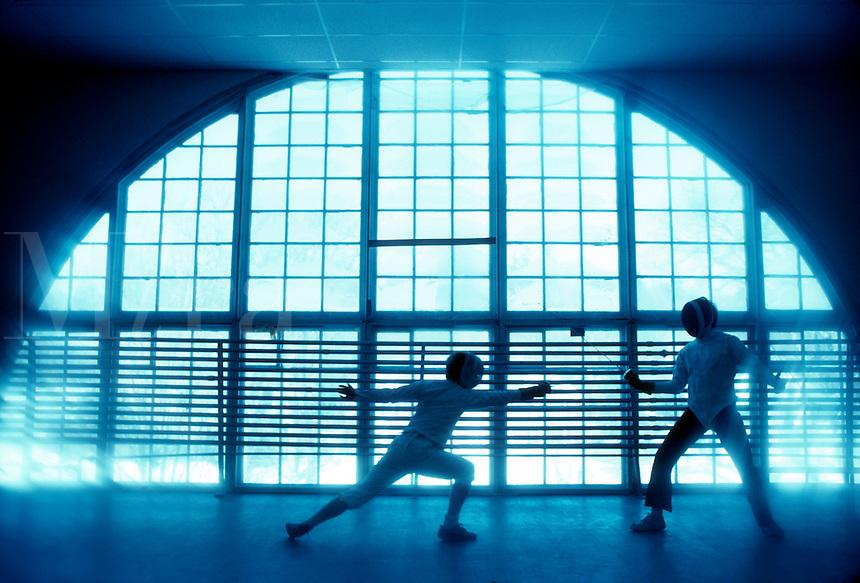 Fencing Dartmoutn College.