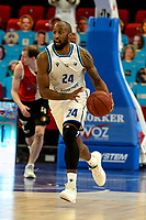 31-03-2021: Basketbal: Donar Groningen v ZZ Feyenoord: Groningen , Donar speler Justin Watts