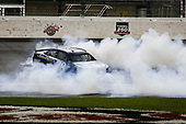 Monster Energy NASCAR Cup Series<br /> Go Bowling 400<br /> Kansas Speedway, Kansas City, KS USA<br /> Saturday 13 May 2017<br /> Martin Truex Jr, Furniture Row Racing, Auto-Owners Insurance Toyota Camry celebration<br /> World Copyright: Barry Cantrell<br /> LAT Images<br /> ref: Digital Image 17KAN1bc4737