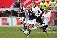 Lauren Cheney (USA) gegen Luisa Wensing (D)