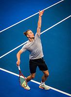 Amstelveen, Netherlands, 16  December, 2020, National Tennis Center, NTC, NK Indoor, National  Indoor Tennis Championships,  Doubles : Tim van Rijthoven (NED) <br /> Photo: Henk Koster/tennisimages.com
