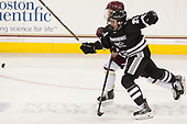 Conor MacPhee (PC - 29), Jesper Mattila (BC - 8) - The Boston College Eagles defeated the visiting Providence College Friars 3-1 on Friday, October 28, 2016, at Kelley Rink in Conte Forum in Chestnut Hill, Massachusetts.The Boston College Eagles defeated the visiting Providence College Friars 3-1 on Friday, October 28, 2016, at Kelley Rink in Conte Forum in Chestnut Hill, Massachusetts.