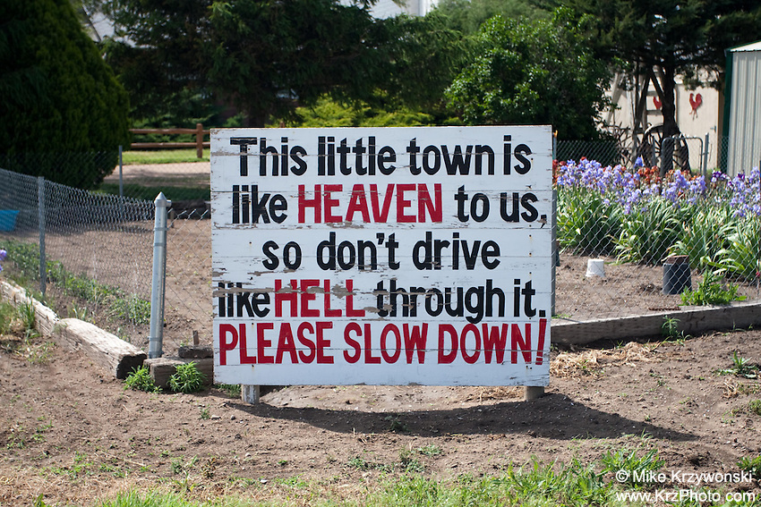 Sign in Paoli, CO