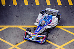 Antonio Felix da Costa of Andretti Formula E during the first stop of the FIA Formula E Championship HKT Hong Kong ePrix at the Central Harbourfront Circuit on 9 October 2016, in Hong Kong, China. Photo by Marcio Rodrigo Machado / Power Sport Images