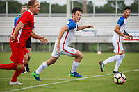Lakewood Ranch, FL - Sunday July 23, 2017: Benjamin Lindau during an international friendly match between the paralympic national teams of the United States (USA) and Canada (CAN) at Premier Sports Campus at Lakewood Ranch.