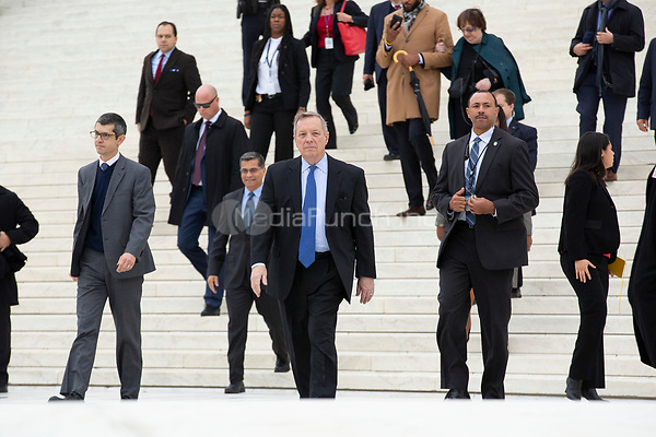 United States Senator Dick Durbin (Republican of Illinois) departs the Supreme Court after hearing arguments on the Deferred Action for Childhood Arrivals program in Washington D.C., U.S. on Tuesday, November 12, 2019.<br /> <br /> Credit: Stefani Reynolds / CNP /MediaPunch