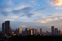 Skyline over Manila, Artigas area, Philippines
