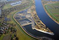 Kreetsand: EUROPA, DEUTSCHLAND, HAMBURG 28.11.2015:   Tiedeelbe Konzept Kreetsand, Hamburg Port Authority (HPA), soll auf der Ostseite der Elbinsel Wilhelmsburg zusaetzlichen Flutraum für die Elbe schaffen. Das Tidevolumen wird durch diese strombauliche Massnahme vergroessert und der Tidehub reduziert. Gleichzeitig ergeben sich neue Moeglichkeiten für eine integrative Planung und Umsetzung verschiedenster Interessen und Belange aus Hochwasserschutz, Hafennutzung, Wasserwirtschaft, Naturschutz und Naherholung.