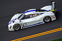 26-29 January, 2012, Daytona Beach, Florida USA.#8 Starworks Motorsports Ford/Riley of Ryan Dalziel, Enzo Potolicchio, Alex Popow, Lucas Luhr & Allan McNish.© F. Peirce Williams 2012.LAT Photo USA.`