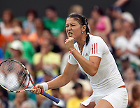29-6-09, England, London, Wimbledon, Dinara Safina winning