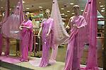 United Arab Emirates, Dubai: Indian fashion shop along Al Faheidi Street.