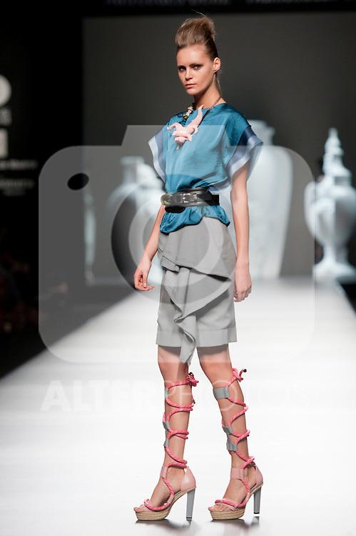 Mercedes Benz Fashion Week Madrid. Fashion show of Ana Locking on September 2th 2012...Photo: (ALTERPHOTOS/Ricky)