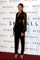 """L'attrice inglese Naomie Harris posa durante un photocall per la presentazione del film """"Skyfall"""" a Roma, 26 ottobre 2012..British actress Naomie Harris poses during a photocall for the presentation of the movie """"Skyfall"""" in Rome, 26 october 2012..UPDATE IMAGES PRESS/Riccardo De Luca"""
