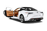 Car images close up view of a 2018 Lexus LC 500 Sport Plus 2 Door Coupe doors