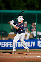 Ryan Williams (8) during the WWBA World Championship at Lee County Player Development Complex on October 9, 2020 in Fort Myers, Florida.  Ryan Williams, a resident of Cypress, Texas who attends Bridgeland High School.  (Mike Janes/Four Seam Images)