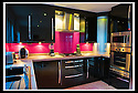 AJ Glass : Pink Back Splash