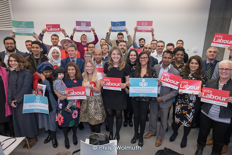 Camden Labour Party manifesto launch for the May local government elections.
