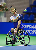 December 189 2014, Rotterdam, Topsport Centrum, Lotto NK Tennis, Rody de Bie (NED)<br /> Photo: Tennisimages/Henk Koster