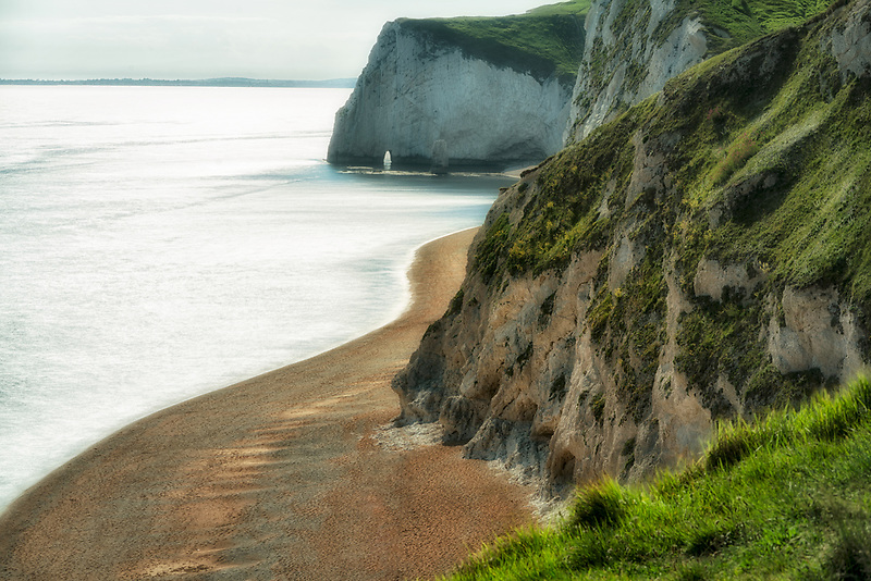 Beach at White Nothe near Durdle Door. Dorset, Jurassic  Coast, England