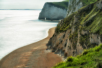 Beach at White Nothe near Durdle Door. Dorset, Jurassic  Coast, England