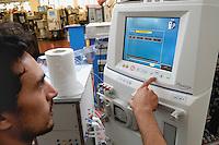 - Gambro plant in Mirandola (Modena), production of medical equipments for the dialysis<br /> <br /> - stabilimento Gambro a Mirandola (Modena), produzione di attrezzature mediche per la dialisi