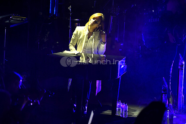 LONDON, ENGLAND - NOVEMBER 11: Yoshiki (Yoshiki Hayashi) performing at Royal Albert Hall on November 11, 2019 in London, England.<br /> CAP/MAR<br /> ©MAR/Capital Pictures /MediaPunch ***NORTH AMERICAS ONLY***