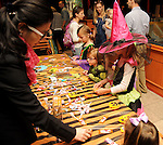 Kids play games at the M.D. Anderson Halloween party at The Galleria Sunday Oct 25, 2015.(Dave Rossman photo)