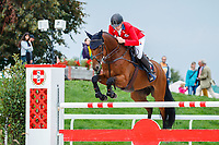 CZE-Miloslav Prihoda rides Ferreolus Lat during the Showjumping. 2021 SUI-FEI European Eventing Championships - Avenches. Switzerland. Sunday 26 September 2021. Copyright Photo: Libby Law Photography