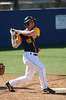 Feb 28 2008: David Cooper of the University of California Golden Bears bats during game at the University of San Diego in San Diego,CA.  Photo by Larry Goren/Four Seam Images