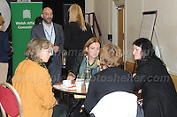14.11.2016 - Ebbw Vale, Gwent, South wales. The Welsh Affairs Committee Brexit meeting at the Ebbw Vale Institute. Liz Saville-Roberts (2nd Left facing) Plaid Cymru MP for Dwyfor Merionnnydd during the question & answer session. <br /> <br /> <br /> Jeff Thomas Photography -  www.jaypics.photoshelter.com - <br /> e-mail swansea1001@hotmail.co.uk -<br /> Mob: 07837 386244 -