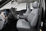 Front seat view of 2021 Ford F-150 XLT 4 Door Pick-up Front Seat  car photos