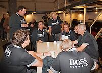 14-09-12, Netherlands, Amsterdam, Tennis, Daviscup Netherlands-Swiss,  Umpires
