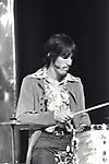The Doors 1968 John Densmore on Top Of The Pops..© Chris Walter..