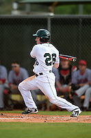 Dartmouth Big Green outfielder Ben Socher (26) during a game against the Ball State Cardinals on March 7, 2015 at North Charlotte Regional Park in Port Charlotte, Florida.  Ball State defeated Dartmouth 7-4.  (Mike Janes/Four Seam Images)