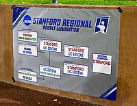 STANFORD, CA - JUNE 7: Stanford Regional after a game between UC Irvine and Stanford Baseball at Sunken Diamond on June 7, 2021 in Stanford, California.