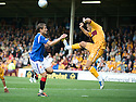 MOTHERWELL'S TOM HATELEY CLEARS FROM RANGERS' NIKICA JELAVIC