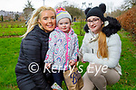 Enjoying a stroll in the Tralee town park, l to r: Keidine Lacey, Freya Cooney and Caoimhe Lynch