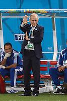 Argentina manager Alejandro Sabella looks scared