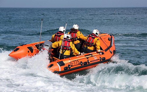 File image of Newcastle RNLI's inshore lifeboat