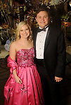 """Haley Kurisky and Jake Nyquist at the San Luis Salute """"Hollywood Dinner Club"""" in Galveston Friday Feb. 09,2018. (Dave Rossman Photo)"""