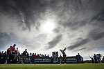 Rory McIlroy tees off at the 7th hole during round three of the Alfred Dunhill Links Championship at St Andrews Old Course. PRESS ASSOCIATION Photo. Picture date: Saturday October 4, 2014. See PA story GOLF Dunhill. Photo credit should read: Kenny Smith/PA Wire. RESTRICTIONS: Use subject to restrictions. Editorial use only. No commercial use. Call +44 (0)1158 447447 for further information.