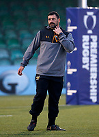 Photo: Richard Lane/Richard Lane Photography. Worcester Cavaliers v Wasps A. Premiership Rugby Shield. 08/04/2019. Wasps' Academy Coach, Andrea Masi.