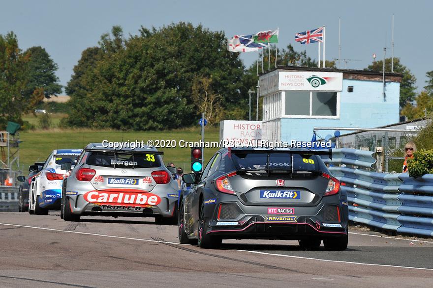 Round 5 of the 2020 British Touring Car Championship. #66 Josh Cook. BTC Racing. Honda Civic Type R.
