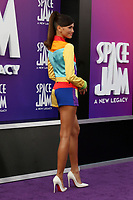 LOS ANGELES - JUL 12:  Zendaya Coleman at the Space Jam:  A New Legacy Premiere at the Microsoft Theater on July 12, 2021 in Los Angeles, CA