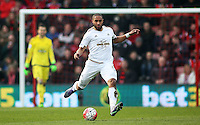 Ashley Williams of Swansea City during the Barclays Premier League match between AFC Bournemouth and Swansea City played at The Vitality Stadium, Bournemouth on March 12th 2016