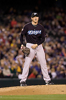 May 19, 2010: Toronto Blue Jays pitcher Scott Downs (37) during a game against the Seattle Mariners at Safeco Field in Seattle, Washington.