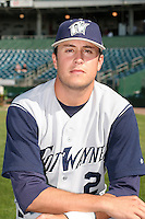 Fort Wayne Wizards Seth Johnston poses for a photo before a Midwest League game at Oldsmobile Park on July 13, 2006 in Fort Wayne, Indiana.  (Mike Janes/Four Seam Images)