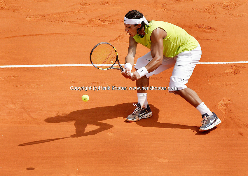 18-4-06, Monaco, Tennis,Master Series, Moya in action against Clement