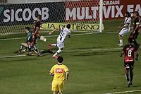 Campinas (SP), 14/08/2020 - Ponte Preta - Vitória-BA - João Paulo comemora gol da Ponte Preta. Partida entre Ponte Preta e Vitória-BA pelo Campeonato Brasileiro 2020 da serie B, nesta sexta-feira (14), no Estádio Moisés Lucarelli, em Campinas (SP).