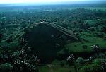 La Venta, aerial, Olmec, Mexico